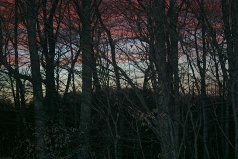 Sunset December 12.