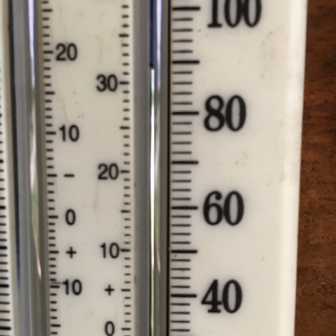 July 23 Temperature in the Shade!