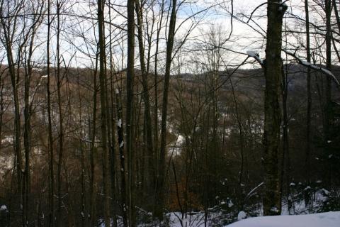 Climbing higher above Bemis.