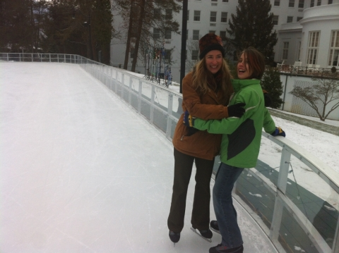 Ice skating can be fun! January 26.