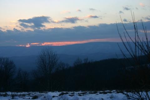 Sunset February 14